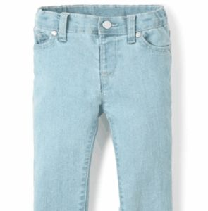 Children's Place Bottoms - Toddler Girl's Snowflake Wash Basic Skinny Jeans